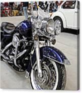 Harley Davidson Detail Canvas Print