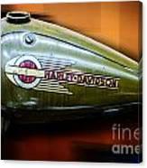 Harley-davidson Tank Logo Canvas Print