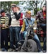 Harley Gang Canvas Print