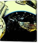 Harley Hog Canvas Print