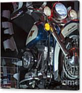 Harley Of Vegas Canvas Print