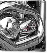 Harley Reflections Canvas Print