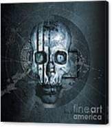 Harmagedon Blue-gray Canvas Print