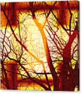 Harmonious Colors - Sunset Canvas Print