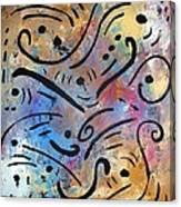 Harmony And Rain Canvas Print