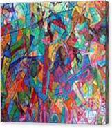 Harmony Despite Differences 1 Canvas Print