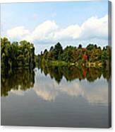 Harmony On The Boyne River Canvas Print