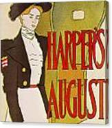 Harpers August 1897 Canvas Print