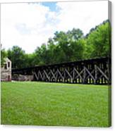 Harpers Ferry Hardware And Railroad Canvas Print