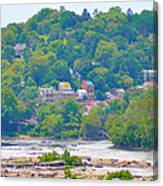 Harpers Ferry View Canvas Print