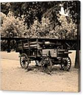 Harpers Ferry Wagon Canvas Print