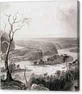 Harpers Ferry, West Virginia, From The History Of The United States, Vol. II, By Charles Mackay Canvas Print