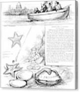 Harper's Weekly, 1881 Canvas Print