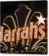 Harrahs - Las Vegas Canvas Print