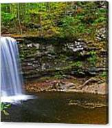 Harrison Wright Falls And Pool Canvas Print