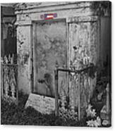 Harry T Hays Major General Lafayette Cemetery 1 Dsc05175 Canvas Print