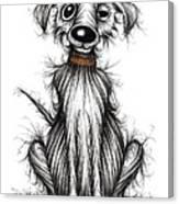 Harry The Dog Canvas Print