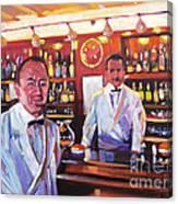 Harry's American Bar Canvas Print