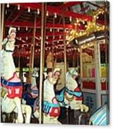 Hartford Carousel Canvas Print