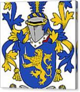 Hartigan Coat Of Arms Irish Canvas Print
