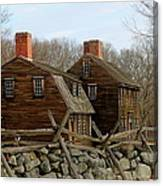 Hartwell Tavern 3 Canvas Print