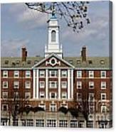 Harvard University Moors Hall Canvas Print
