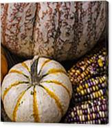 Harvest Still Life Canvas Print