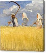 Harvesters Canvas Print