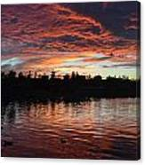 Harveston Sunset Canvas Print