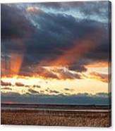 Harvey Beach Sunset Canvas Print