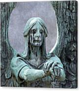 Haserot Weeping Angel Canvas Print