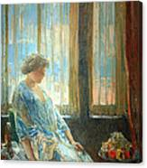 Hassam's The New York Window Canvas Print