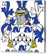 Hasset Coat Of Arms Irish Canvas Print