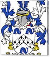 Hassett Coat Of Arms Irish Canvas Print