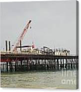 Hastings Pier Reconstruction Canvas Print