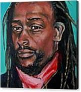 Hat Man - Portrait Canvas Print