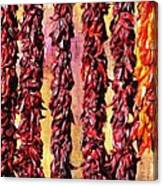 Hatch Red Chili Ristras Canvas Print