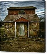 Hatching House Canvas Print