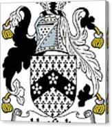 Hatfield Coat Of Arms Irish Canvas Print
