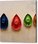 Hats. Lazise. Lago Di Garda Canvas Print