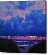 Hatteras Island Sunrise 1 11/01 Canvas Print