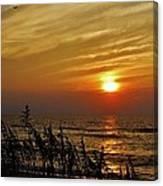 Hatteras Island Sunrise 1 7/31 Canvas Print