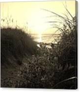 Hatteras Island Sunrise 12 8/28 Canvas Print