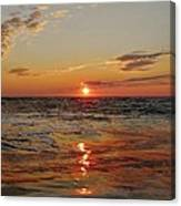 Hatteras Island Sunrise 2 7/30 Canvas Print
