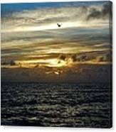 Hatteras Island Sunrise 2 9/10 Canvas Print
