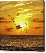 Hatteras Island Sunrise 20 9/3 Canvas Print