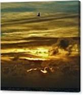 Hatteras Island Sunrise 3 9/10 Canvas Print