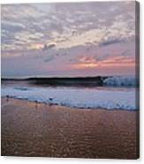 Hatteras Island Sunrise 4 10/18 Canvas Print