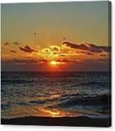 Hatteras Island Sunrise 4 11/03 Canvas Print
