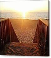 Hatteras Island Sunrise 6 8/23 Canvas Print